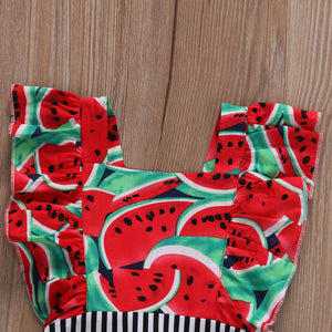 Watermelon Baby Romper