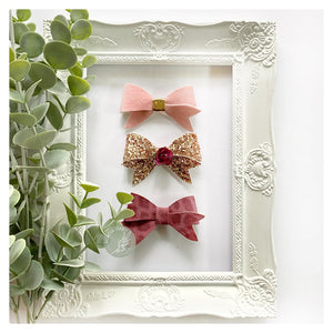 'Dainty' Lovely Little Bailee Bow Trio
