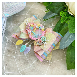 Handmade Clay Bow - 'Dream A Little Dream'