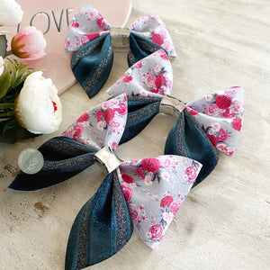 Acacia Sailor Bow 'Beautiful Bouquet' Large Size