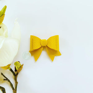 Eleanor Bow - Mustard