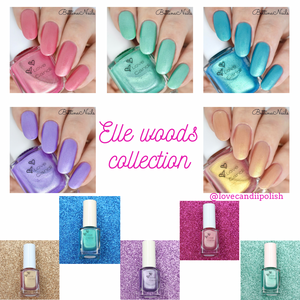 Love Candii Polish - 'The Complete Elle Woods Collection'