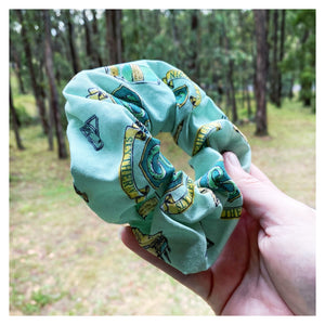 'Everyday I'm Slytherin' Single Scrunchie