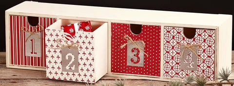 Christmas Advent Drawers