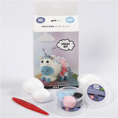 Silk Clay Blue Funny Friends DIY Set For Unicorn Making Moulding Modelling craft - Hobby & Crafts