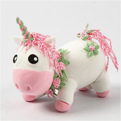 Silk Clay Rose Funny Friends DIY Set For Unicorn Making Moulding Modelling Crafts - Hobby & Crafts