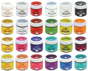 24 x Aladine All Colour 3D Izink Embossing Powder Scrapbooking Paper Crafts 25ml - Hobby & Crafts