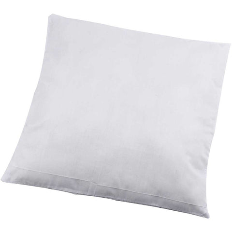 100% Cotton Cover Filler Pads With 100% Polyster Filling For Cushion - 40cm x 40cm - Hobby & Crafts