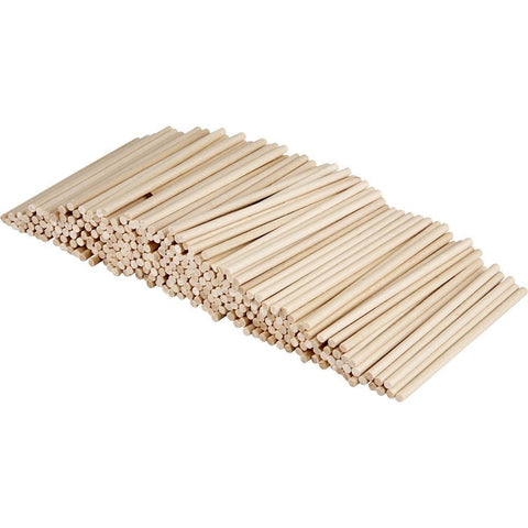 300 x Lime Wood Small Sticks For Lollipop Decoration Crafts 10 cm - Hobby & Crafts