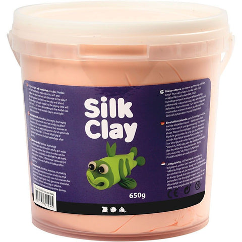 Skin Colour Pliable Lightweight Modelling Compound With Plastic Bucket 650 g - Hobby & Crafts