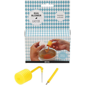 Plastic Egg Blowing Set Easy To Empty Eggs For Easter Decoration Paint Craft - Hobby & Crafts