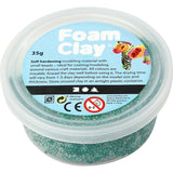Dark Green Colour Small Bead Modelling Material With Plastic Tub 35 g - Hobby & Crafts