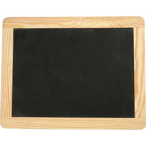 Wooden Frame Blackboard For Children Decoration Crafts 24 cm - Hobby & Crafts