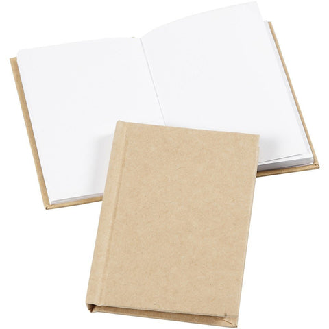 1 x A7 Sketchbook Portrait Blank Notebook Writing Drawing 60 Pages 8 mm Thick - Hobby & Crafts