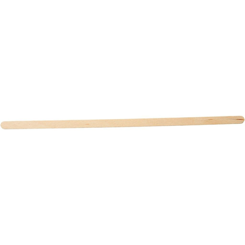 30 X Birch Wood Thin Long Sticks For Ice Lolly Decoration Crafts 19 Cm