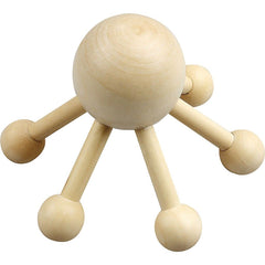 Wooden Massage Spider For Shoulder Utility Items 13 cm - Hobby & Crafts