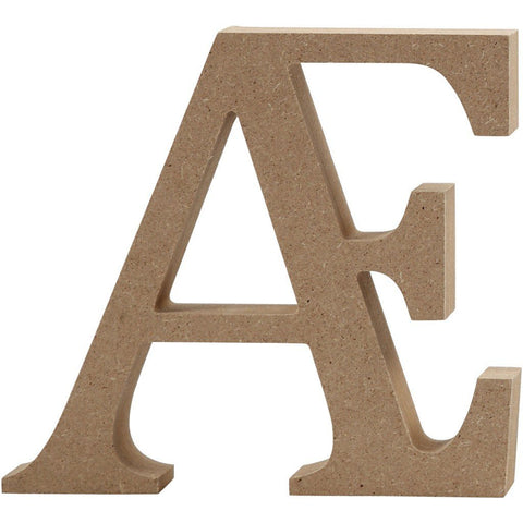 Large Wooden Letter MDF Decoration Craft 13 cm - Hobby & Crafts