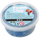 Blue Colour Small Bead Modelling Material With Plastic Tub 35 g - Hobby & Crafts