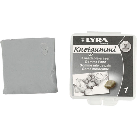 Lyra Kneadable White Colour Eraser For Erasing Shading - Hobby & Crafts
