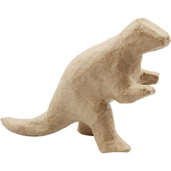 17cm Dinosaur Animal Shaped Craft Paper Mache Make Your Own Decoration Model Art - Hobby & Crafts