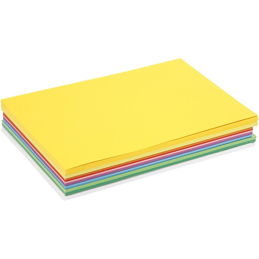 30 x A4 Card Stock Assorted 13 Colours Making Scrapbooking Craft Premium 180g - Hobby & Crafts