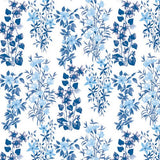 5 Napkins Blue Field Flowers 33 x 33 cm Tissue Decoupage Paper Party Craft - Hobby & Crafts