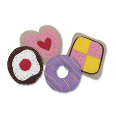 Cake Party Set Felt Appliqu?® Craft Kit Embellishments Needlecraft Kits Canvases - Hobby & Crafts