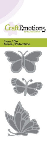 Butterflies Stencil Die Universal Embossing Cutting Machine Sizzix Card Making - Hobby & Crafts