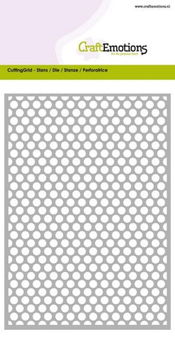 Diamond Grid Stencil Die Universal Embossing Cutting Machine Sizzix Card Making - Hobby & Crafts