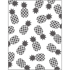 Embossing 2D Pineapple Motifs Folder Punching Machine Silicone Plate Card Crafts - Hobby & Crafts