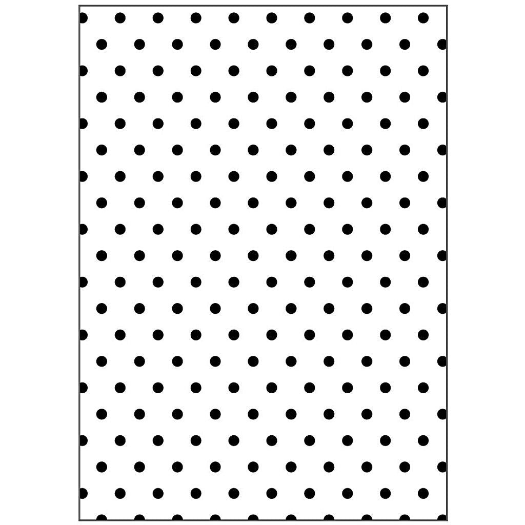 Embossing 2D Polka Dots Motifs Folder Punching Machine Silicone Plate Crafts - Hobby & Crafts