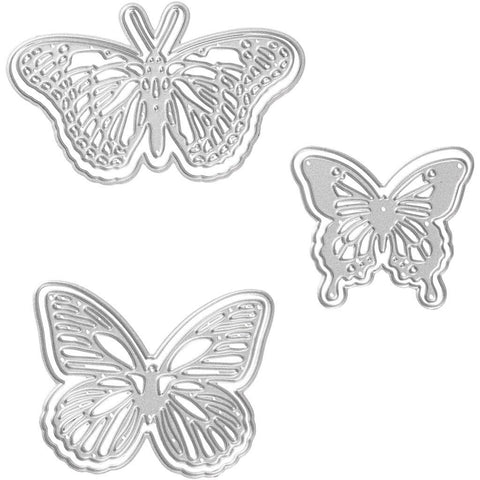 Carving Butterfly Motifs Die Cut Punching Machine Silicone Plate Card Felt Craft