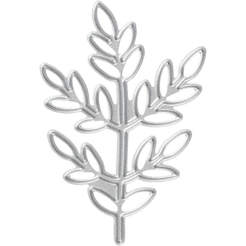 Carving Twigs Motifs Die Cut Punching Machine Silicone Plate Crads Crafts 6.5 cm - Hobby & Crafts