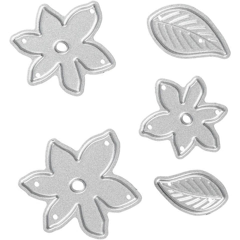 Carving Little Plants Motifs Die Cut Punching Machine Silicone Plate Crad Crafts
