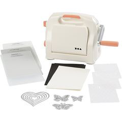 A5 Die Cutting and Embossing Machine Starter Kit - Excellent Value For Money