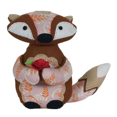Woodland Fox Felt Appliqu?® Craft Kit Embellishments Needlecraft Kits Canvases - Hobby & Crafts
