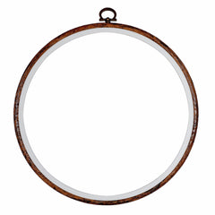 Embroidery Flexi Hoop CrossStitch Sewing Round Plastic Frame - 8 inch - Hobby & Crafts