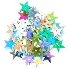 Assorted Hologram Large Stars - Hobby & Crafts