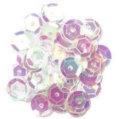 Transparent Medium Cup Sequins - Hobby & Crafts