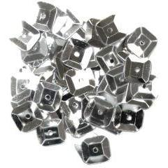 Silver Square Sequins - Hobby & Crafts