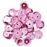 Pink Medium Cup Sequins - Hobby & Crafts