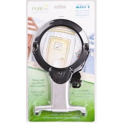 CFPL05 - 2 in 1 Illuminated Hands-Free Magnifier LED - Hobby & Crafts