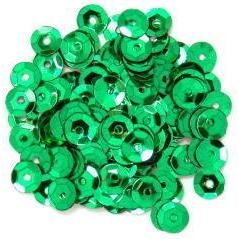 Green Small Cup Sequins - Hobby & Crafts