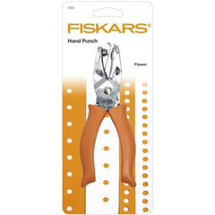 Fiskars 5 mm Flower Shaped Hand Punch With Soft Grip Handle
