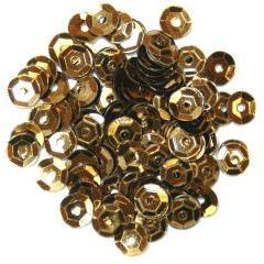 Bronze Small Cup Sequins - Hobby & Crafts