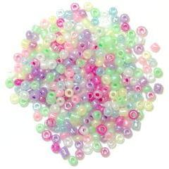 Pastel Multicolour Seed Beads - Hobby & Crafts