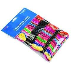 Floss 3 - Assorted Rainbow Colour Skeins 36 Pack - Hobby & Crafts