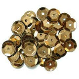 Bronze Medium Cup Sequins - Hobby & Crafts