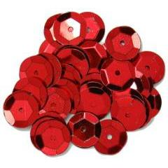 Red Large Cup Sequins - Hobby & Crafts