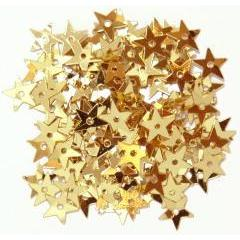 Gold Miniature Stars - Hobby & Crafts